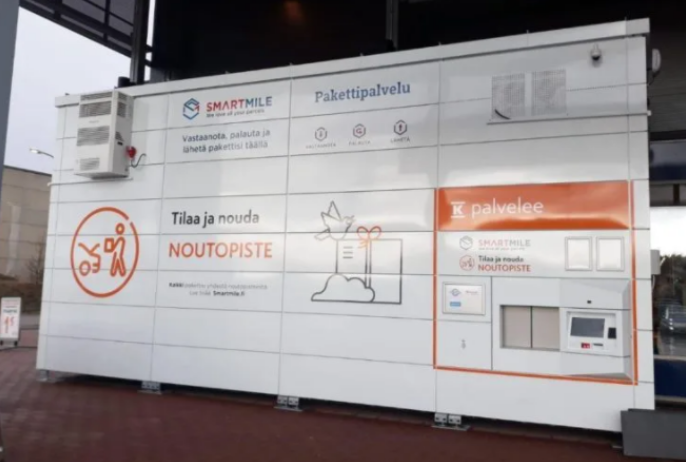 Parcel machines with cold storage launched in Finland
